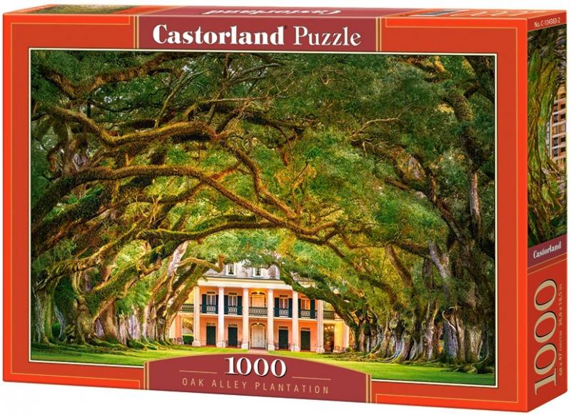 Puzzle 1000 Castorland 104383 Drzewa - Plantacja Oak Alley