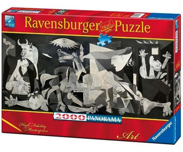 Puzzle 2000 Ravensburger 166909 Picasso - Guernica - Panorama