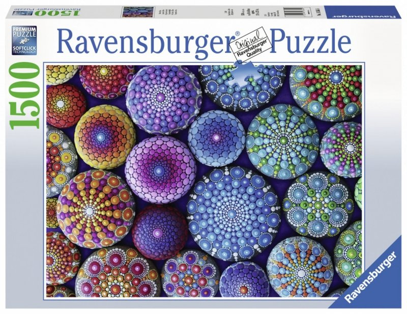 Puzzle 1500 Ravensburger 163656 Malowane Kropkami