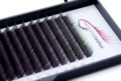 Rzęsy Ombre Zielone by Exclusive Lashes