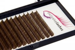 Rzęsy Brązowe (Dark Brown) by Exclusive Lashes