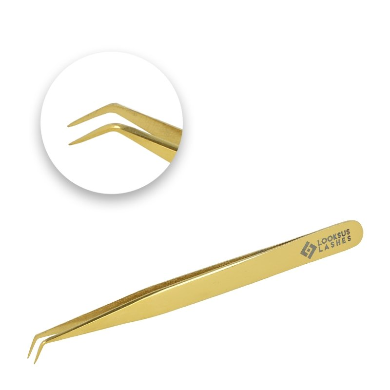 Pęseta Gold Premium 6 by Looksus Lashes
