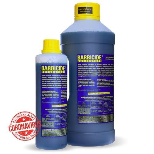 BARBICIDE - Koncentrat do dezynfekcji narzędzi i akcesoriów 500ml