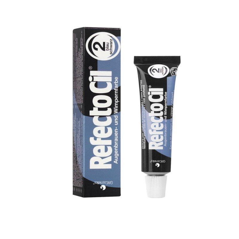 Henna do brwi RefectoCil 2.0 ( czarno - niebieska ) 15ml