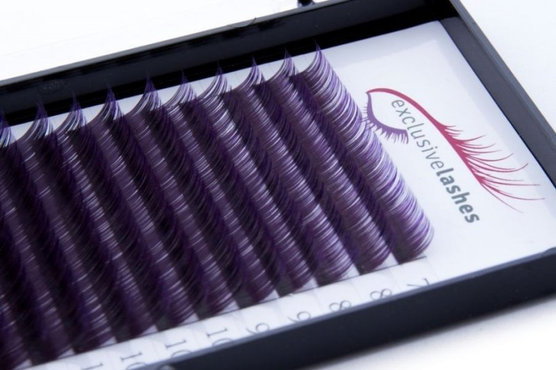 Rzęsy Ombre Fioletowe by Exclusive Lashes