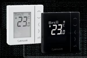 Salus Przewodowy, cyfrowy regulator temperatury - dobowy, 230V VS35W biały