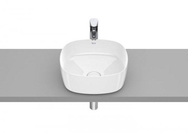 Inspira Umywalka nablatowa cienkościenna Soft       Wymiary:      Szerokość: 370 mm.      Głębokość: 370 mm.      Wysokość: 140 mm.