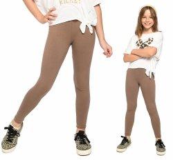 Legginsy dziewczęce getry dla dzieci ZOE beż