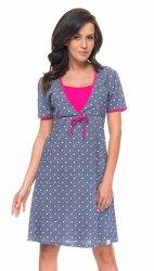 Elegancka koszula 2 w 1 ciążowa i do karmienia 5062/4044 szary