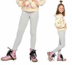 Legginsy dziewczęce zimowe getry dla dzieci Amelia melanż