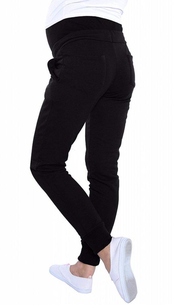 Wygodne spodnie dresowe 4060/3778 czarny 2