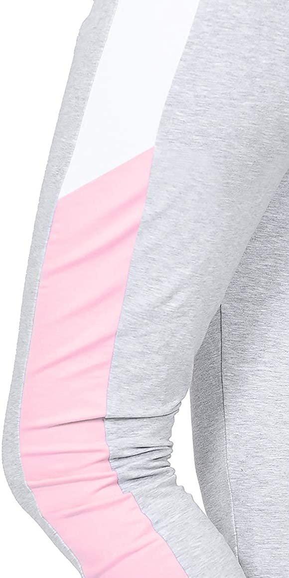 Wygodne spodnie ciązowe dresowe  Elle 9095 melanż3