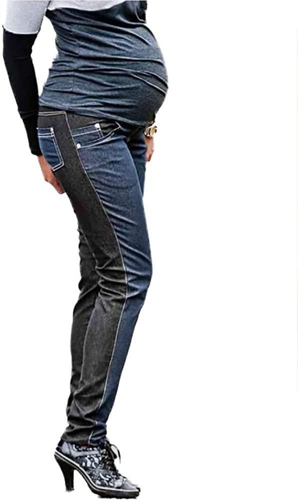 Spodnie ciążowe jeans Korina 9027 dla kobiet w ciąży1