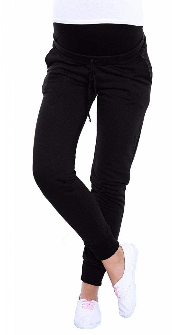 Wygodne spodnie dresowe 4060/3778 czarny 1