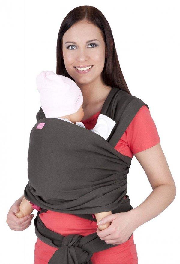 chusta do noszenia dzieci 4011/M28 khaki 1