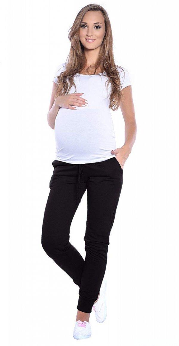 Wygodne spodnie dresowe 4060/3778 czarny 3