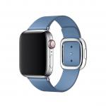 Apple pasek z klamrą nowoczesną w kolorze chabrowym do Apple Watch 38/40 mm - Rozmiar S