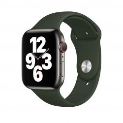 Apple pasek sportowy w kolorze cypryjskiej zielenie do Apple Watch 42/44 mm - S/M i M/L