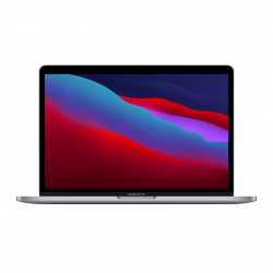 MacBook Pro 13 z Procesorem Apple M1 - 8-core CPU + 8-core GPU / 8GB RAM / 256GB SSD / 2 x Thunderbolt / Space Gray (gwiezdna szarość) 2020 - nowy model