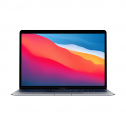 MacBook Air z Procesorem Apple M1 - 8-core CPU + 7-core GPU /  8GB RAM / 2TB SSD / 2 x Thunderbolt / Space Gray