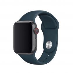 Apple pasek z klamrą sportową w kolorze oceanicznej zieleni do Apple Watch 38/40 mm - Rozmiar S/M i M/L
