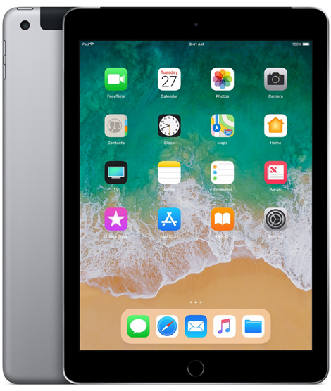 Apple iPad 6-gen 9,7 32GB LTE Wi-Fi Space Gray