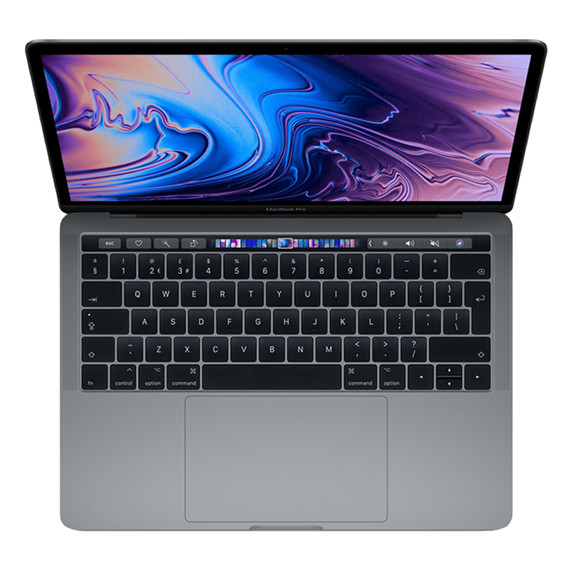 MacBook Pro 13 Retina Touch Bar i7 2,8GHz / 16GB / 512GB SSD / Iris Plus Graphics 655/ macOS / Space Gray (2019)