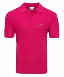 Lacoste koszulka polo polówka męska róż