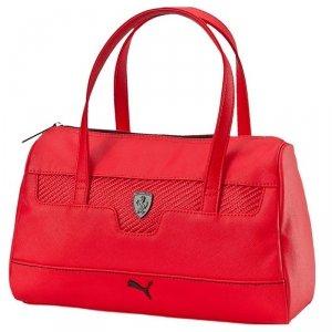 Ekskluzywna czerwona torebka miejska Puma Ferrari 074201 02