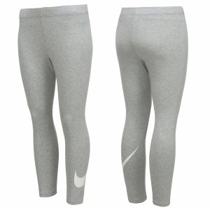 Nike spodnie damskie legginsy sportowe szare Legging Club Crop 831117-063