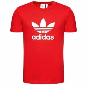 Adidas Originals czerwona koszulka t-shirt męski FM3791