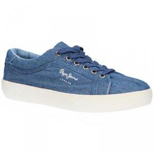 Pepe Jeans buty damskie tenisówki Rene Denim Pepe Jeans buty damskie tenisówki Rene Denim PLS30824 000