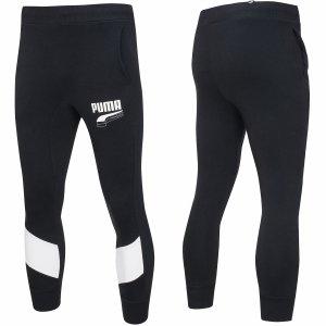 Puma spodnie dresowe męskie czarne Rebel Block Pants 582742 01