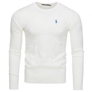 Ralph Lauren sweter męski biały