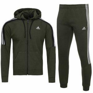 Adidas męski sportowy dres komplet khaki