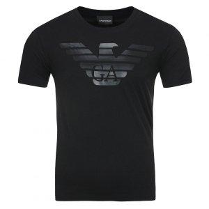 Emporio Armani t-shirt koszulka męska czarna