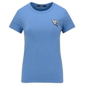 Karl Lagerfeld  t-shirt koszulka damska niebieska