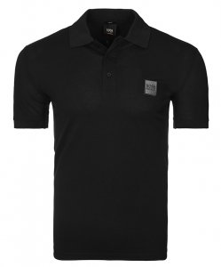 Hugo Boss koszulka polo męska czarna