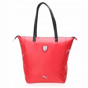 Czerwona miejska torebka Puma Ferrari 073153 02