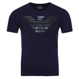 Emporio Armani t-shirt koszulka męska granatowa