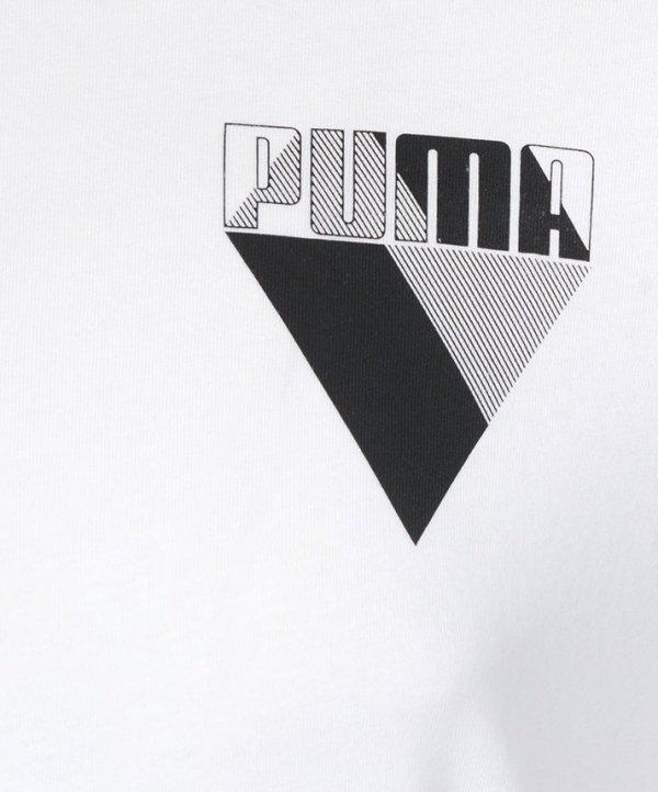 PUMA T-SHIRT KOSZULKA GRAPHIC BRAND TEE 594871 02