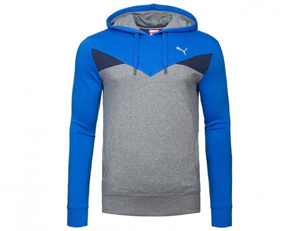 PUMA BLUZA MĘSKA Z KAPTUREM KANGURKA FUN CB HOODED SWEAT 832222 08