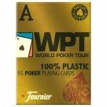 Karty Fournier WPT 100% PLASTIK