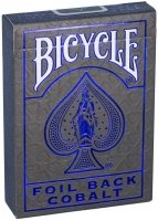 Bicycle Foil Back Cobalt