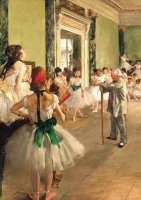 Puzzle, Degas, Lekcja tańca Piatnik