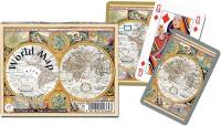 Karty Piatnik Mapa świata