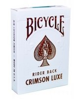Karty Bicycle MetalLuxe Crimson