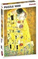 Puzzle Piatnik Klimt, Pocałunek, 1000 części