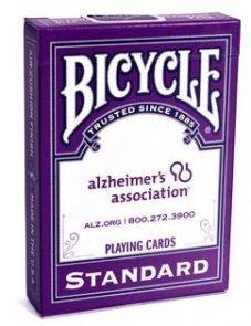 Karty Bicycle Alzheimer