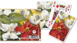Karty Piatnik Kwiatowa Elegancja
